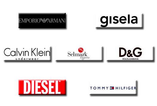 Marcas principales de nuestras tiendas.